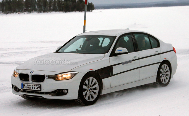 BMW 3 Series Plug-in Hybrid Spied Testing