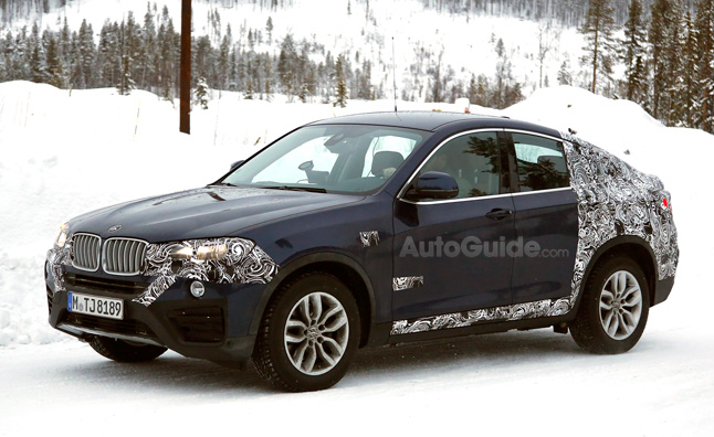 BMW X4 Spotted Testing Before Geneva Debut