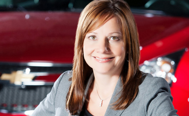GM CEO Mary Barra to be Paid about $14.4M in 2014