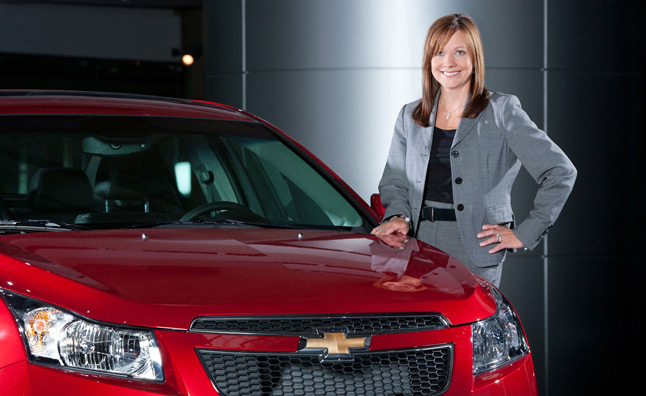 GM's Barra Named Most Powerful Woman in Business