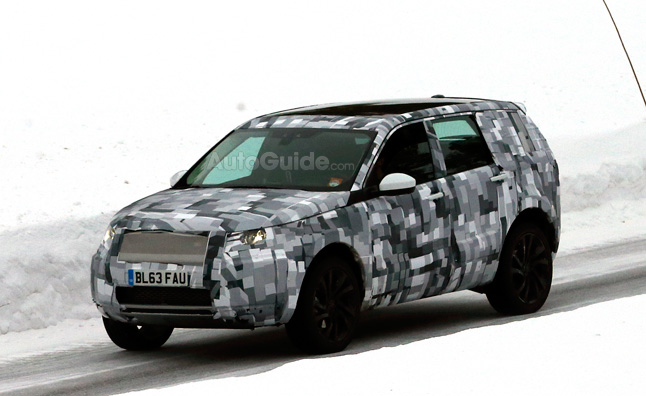 Land Rover Freelander Replacement Spied Testing