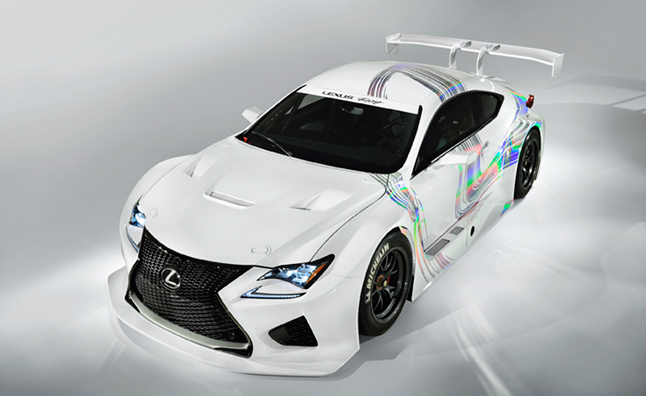 RC F GT3 Flexes Lexus' Muscle in Europe