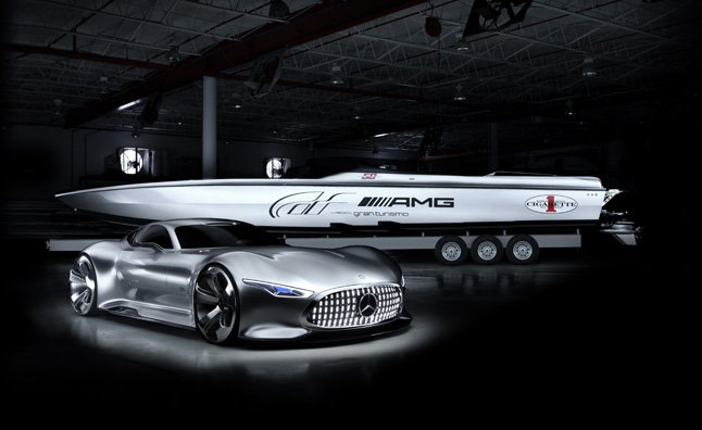 Stupid Fast on Land and at Sea: AMG and Cigarette Racing Concepts Coming to Miami Boat Show