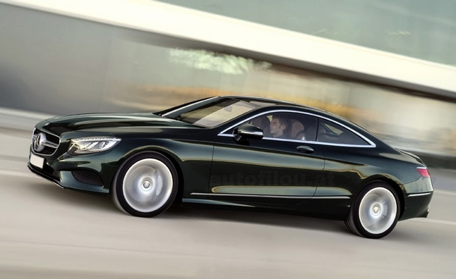 Mercedes-Benz S-Class Coupe Leaked