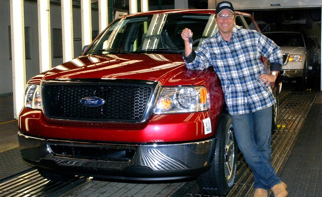 Discovery Channel's Dirty Jobs Star Joins Built Ford Tough