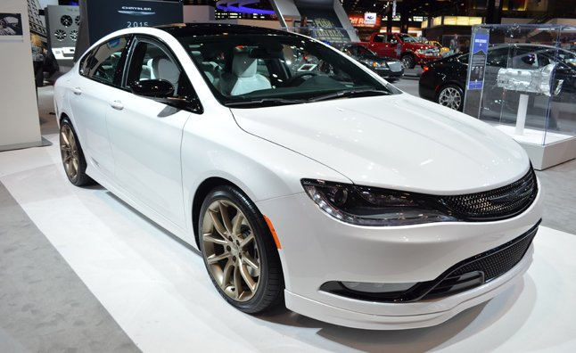 2015 Chrysler 200 'Moparized' for Chicago Auto Show