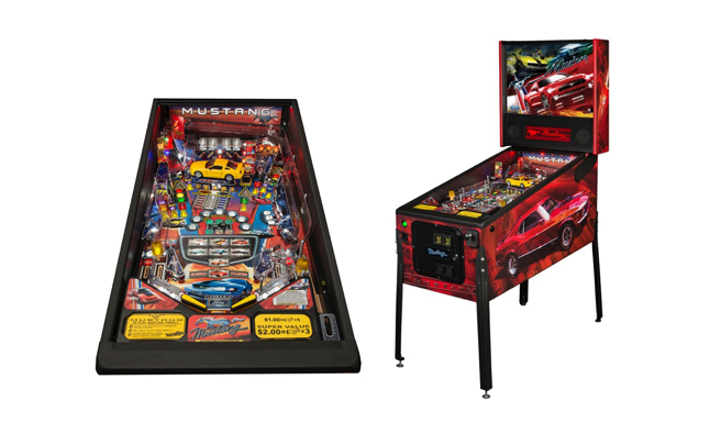 Mustang-Themed Pinball Machines Head to Chicago