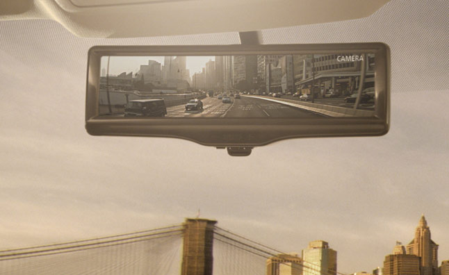 Nissan Reveals Camera-Based Rearview Mirror