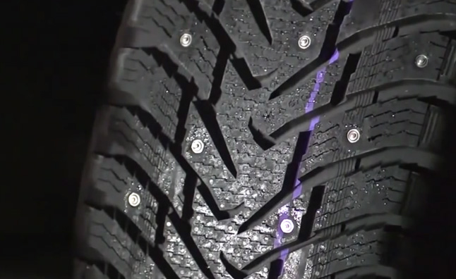 Retractable Tire Stud Concept Offers Best of Both Worlds