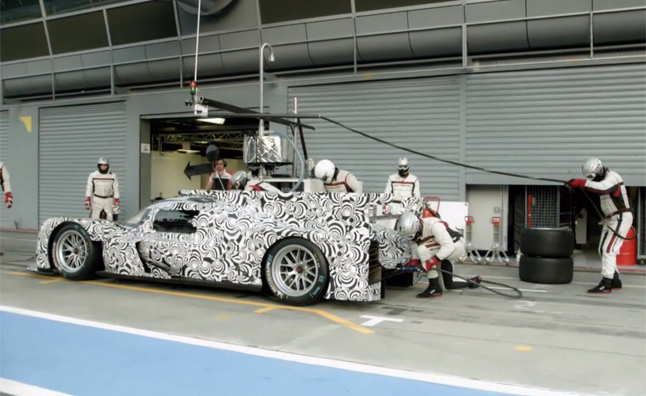 Porsche 919 Hybrid Stars in 'The Art of the Pit Stop'