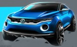 VW T-ROC Concept Previews New Small Crossover