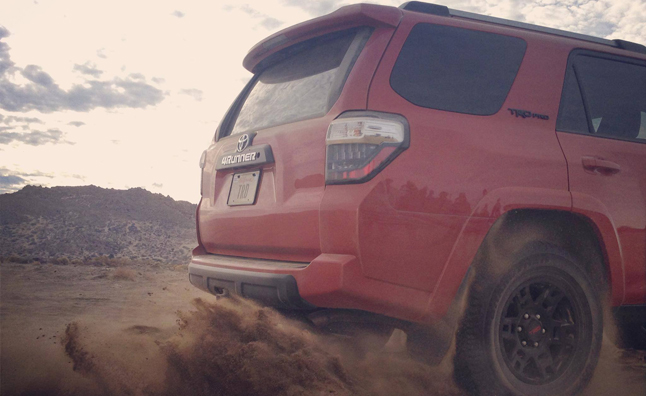 Toyota TRD Pro Series Teased Before Chicago Debut