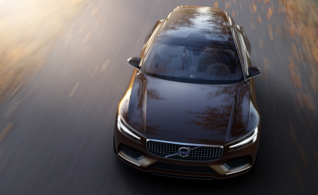 Volvo Concept Estate Officially Revealed