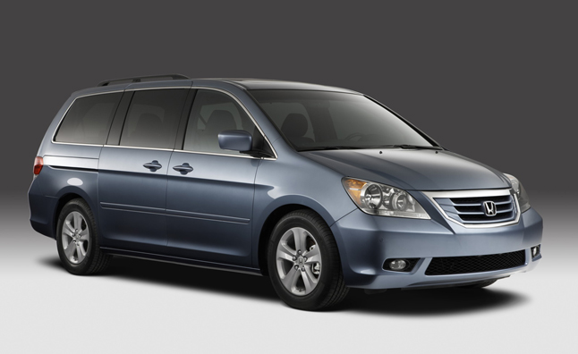 Honda Recalls Almost 900,000 Odyssey Minivans for Fire Risk