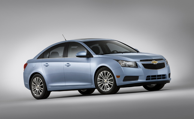 Chevy Cruze Recalled for Cracking Axle Components