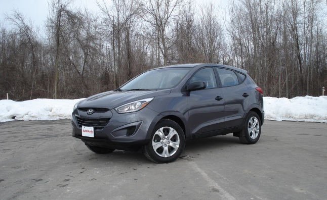 Five-Point Inspection: 2014 Hyundai Tucson Manual