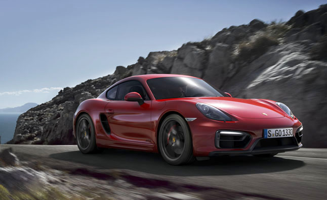 2014 porsche cayman gts red