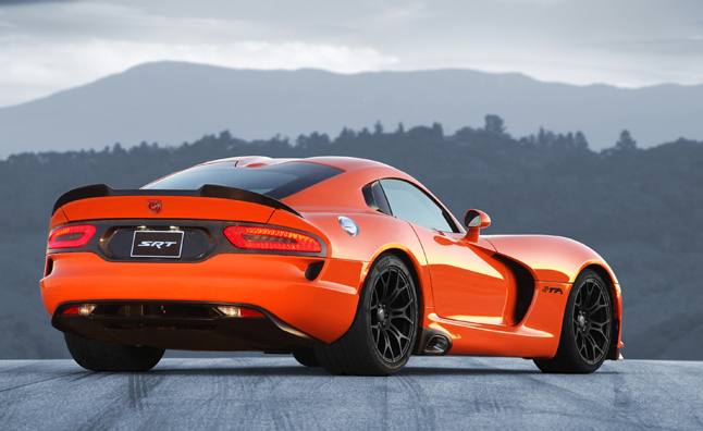 SRT Idling Viper Production Due to Sluggish Sales