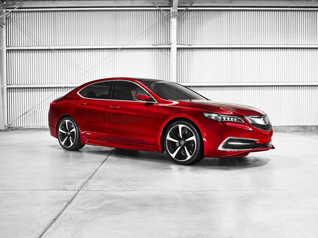 2015 Acura TLX Confirmed for NY Auto Show Debut