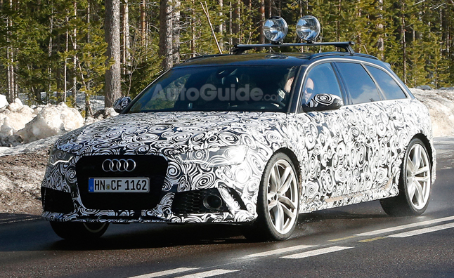 2015 Audi RS6 Avant Revealed in Spy Photos