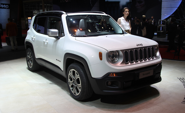 2015 Jeep Renegade to Offer Diesel Engine in US