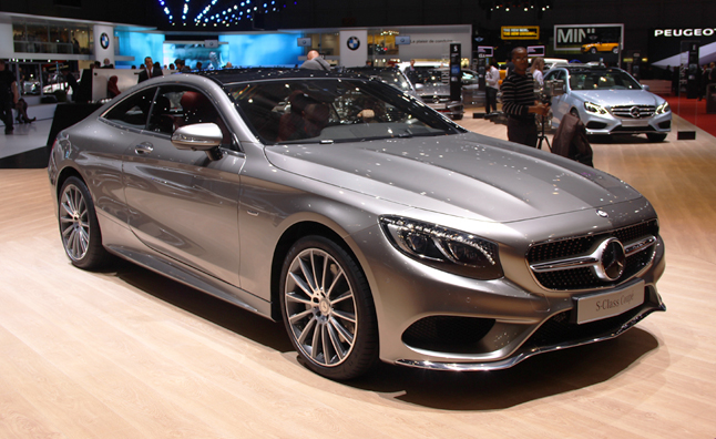 2015 Mercedes S-Class Coupe is Sweet Swiss Miss