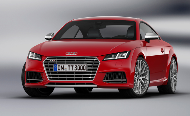 2015 Audi TT Competition, S Line Packages Detailed