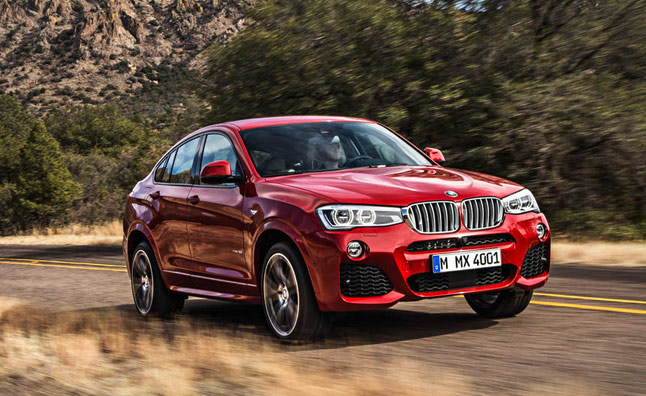 BMW X4 to Debut at 2014 New York Auto Show