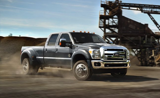 2015 Ford F-Series Super Duty Gets Best-in-Class Torque, Towing
