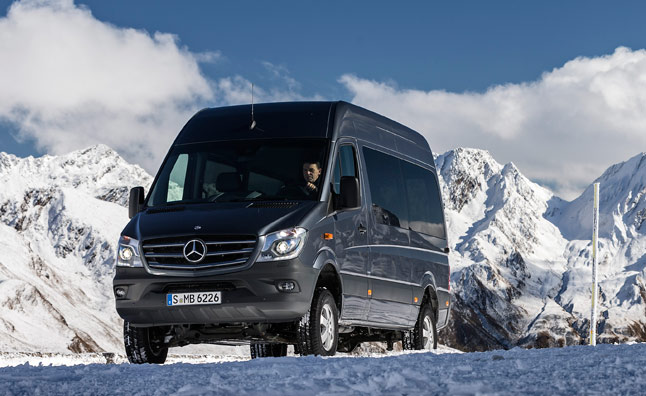 2015 Mercedes Sprinter 4×4 Coming to US Next Year