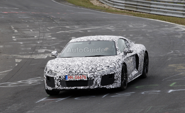 2016 Audi R8 Spied Testing at the Nürburgring