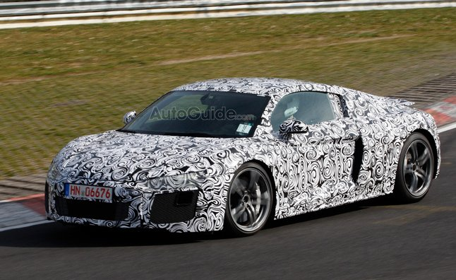 2016 Audi R8 Spy Photos