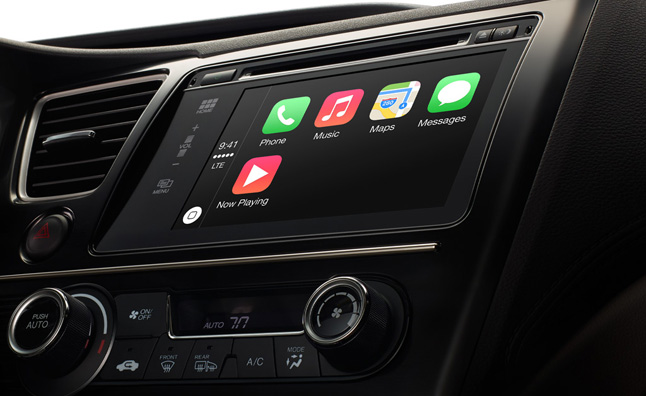 Apple CarPlay to Bring iPhone Tech to Your Car