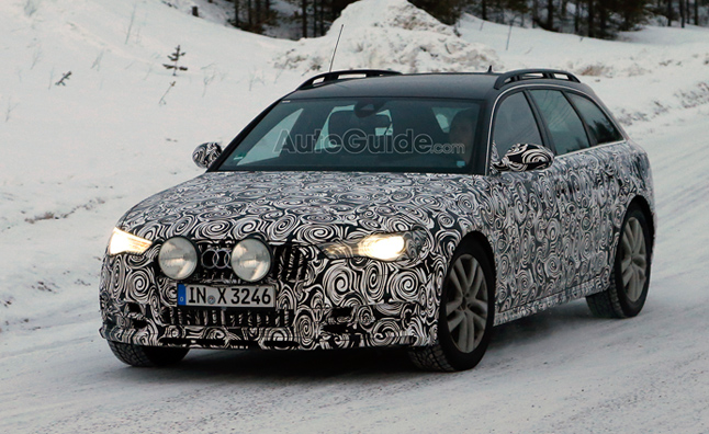 Audi A6 Allroad Spy Photo