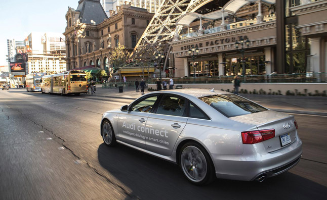 Future Audi Models Could Help You Avoid Red Lights