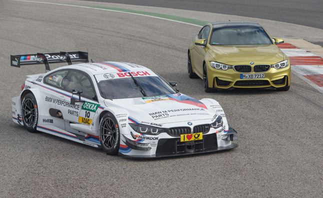bmw m4 dtm race car