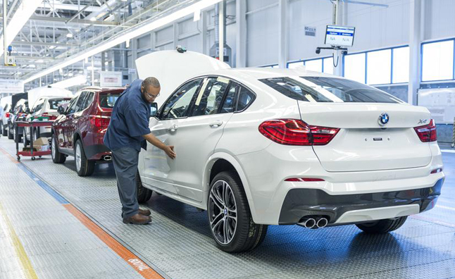 BMW-X4-On-the-line