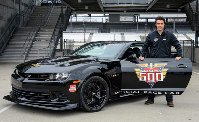 Dario Franchitti to Drive Camaro Z/Z8 Indy 500 Pace Car