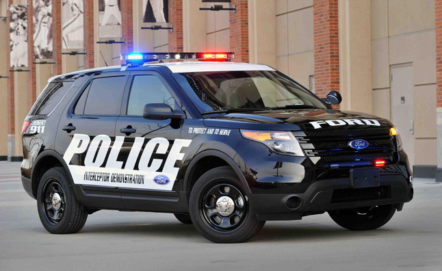 Cops Love Ford's Police Interceptor SUV