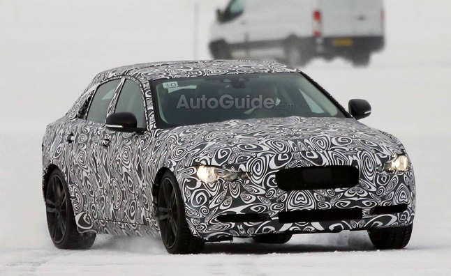2016 Jaguar XE Sport Sedan Spied While Winter Testing