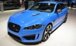 Jaguar XFR-S Sportbrake Offers Aggressive Cargo Space