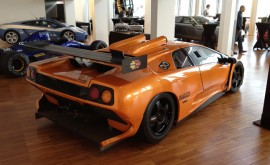 Perhaps the pinnacle of the Diablo's development, an ultra-rare Diablo GT-R race car
