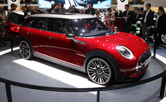MINI Clubman 'Concept' Unwrapped in Genveva