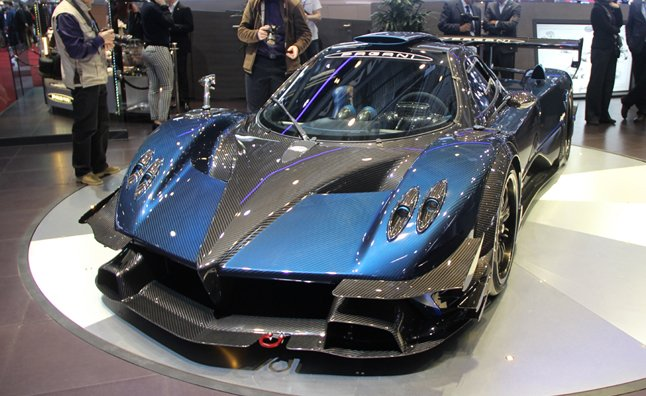 Pagani Zonda Revolucion Defines the Word 'Exotic'