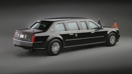 Cadillac Presidential Limousine Rear Three Quarter