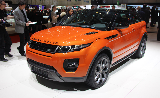 2015 Range Rover Evoque Autobiography Editions Revealed