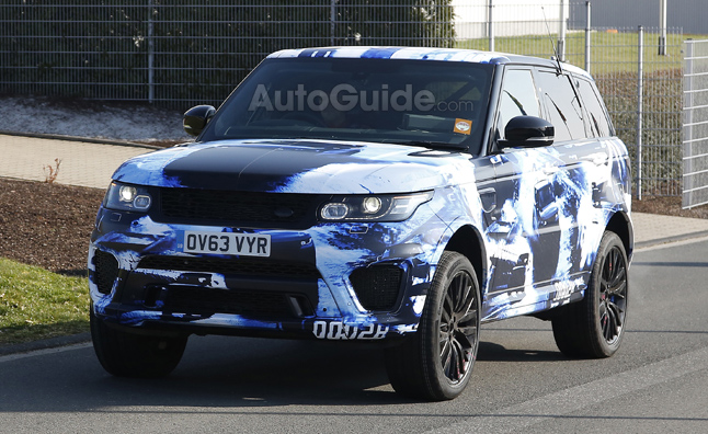 Range Rover Sport R-S Spied in Self-Promoting Camo