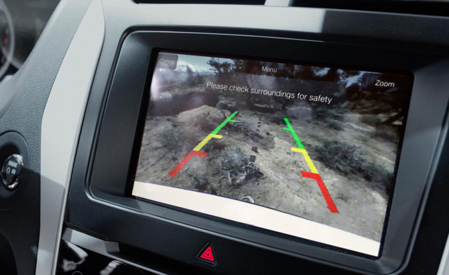Government Makes Rearview Cameras Mandatory