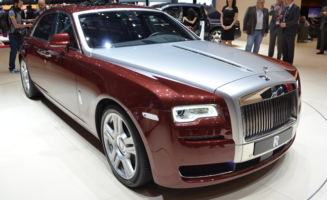 Rolls-Royce Ghost Gets Gentle Updates in Geneva