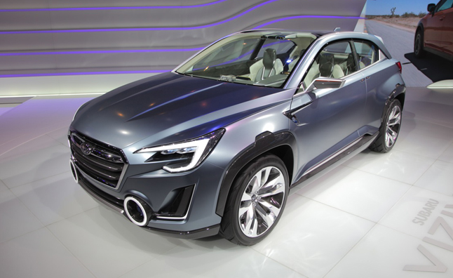 Subaru Viziv 2 Concept is a Handsome High-Riding Hybrid